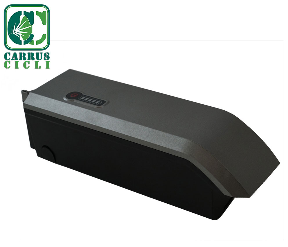 batteria al telaio - mtb ebike - batterypack - carrus cicli