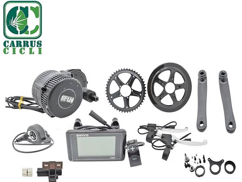 Kit conversione biciclette elettriche - ebike - Carrus Cicli biciclette Savona