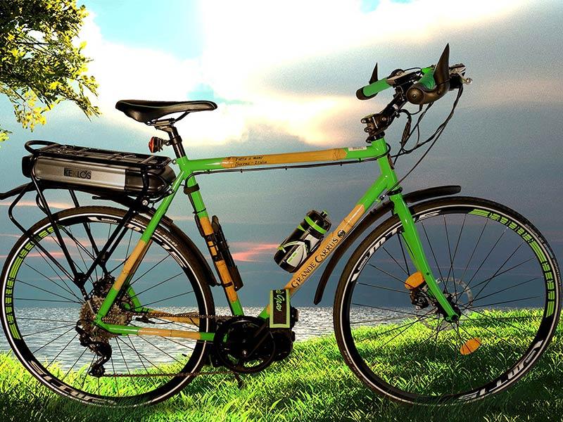 Mountain Bike bambù - Carrus Cicli biciclette Savona