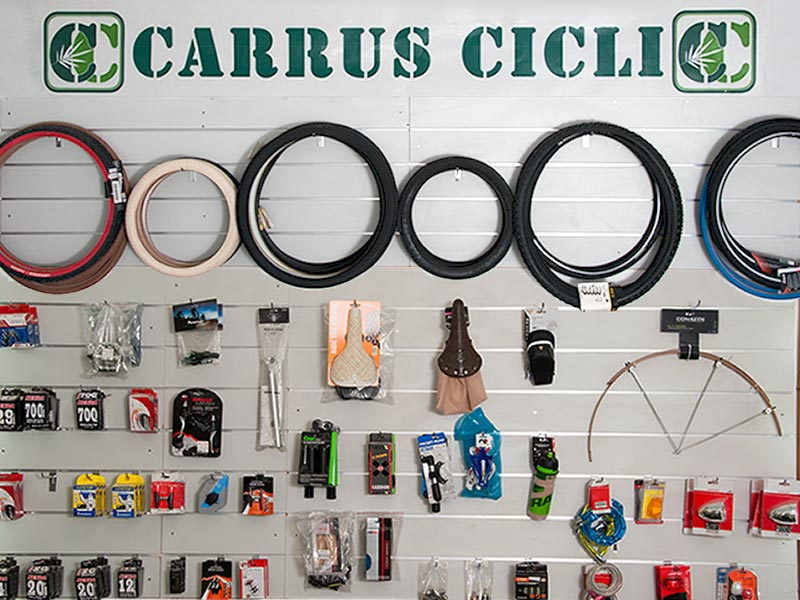 Accessori e ricambi bici - Carrus Cicli biciclette Savona
