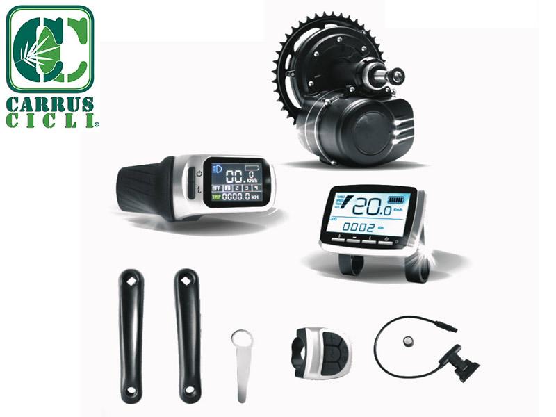 Kit conversione bicicletta elettrica - Carrus Cicli biciclette Savona