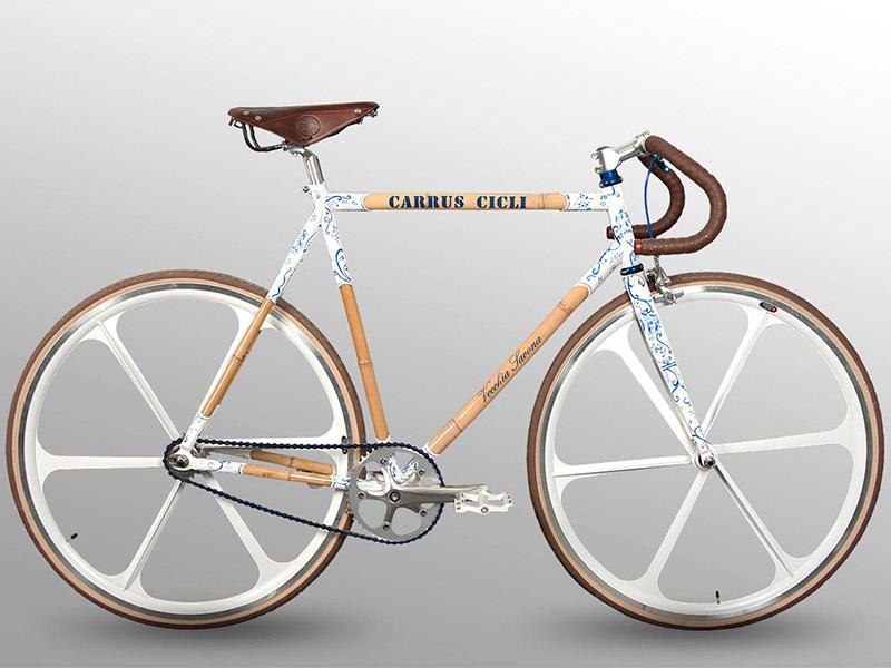 biciclette bambù Carrus Cicli biciclette Savona