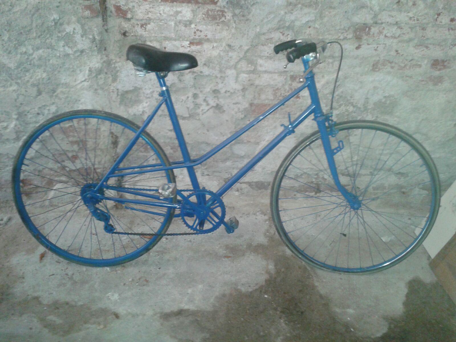 bicicletta prima del restauro